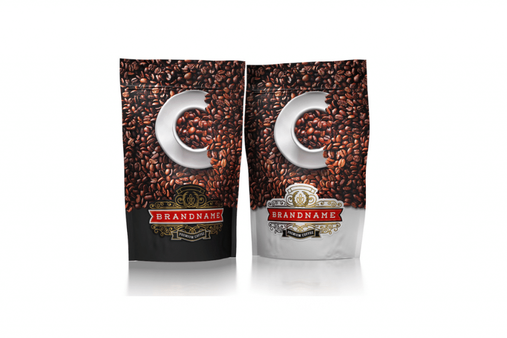 Option of Colombian Private Label Coffee Bag