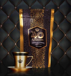 Prize-winning Supremo Coffee