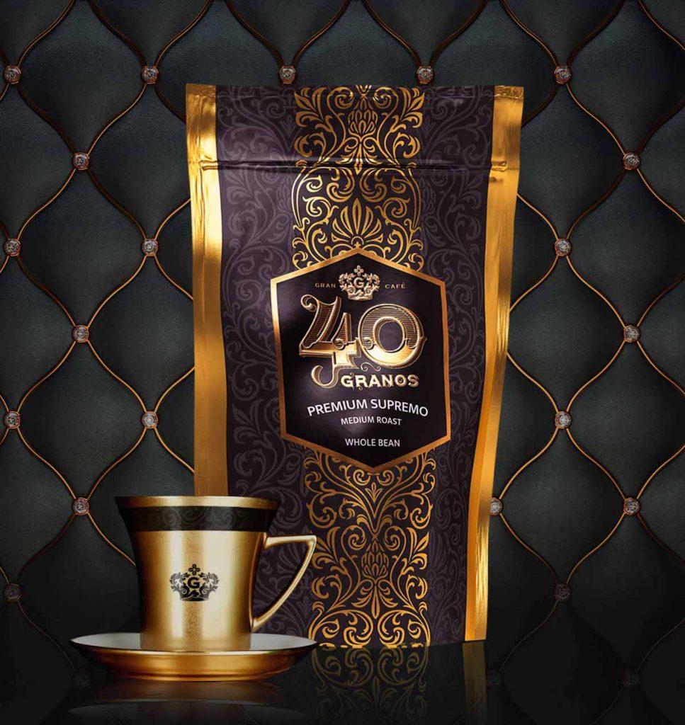 Prize-winning Supremo Coffee