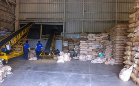 Colombian Coffee Processing for Export