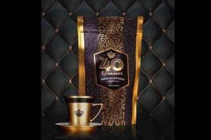 "Our Luxury Colombian Coffee ""40 Granos"" Brand"