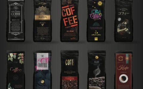 Label designs for Private Label Coffee