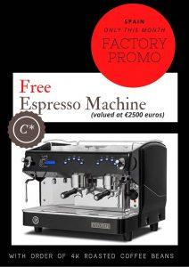 Free Espresso Machine
