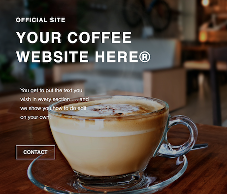 Ready Coffee Websites
